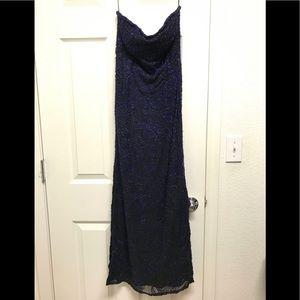 Gorgeous beaded strapless dress